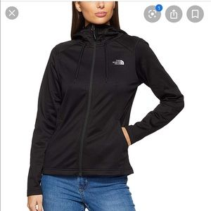 NWT North Face Black Mezzaluna Hoodie